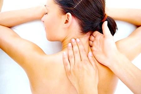 Фото - масаж від хондроза
