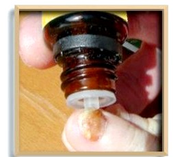 Фото - лак для лікування грибка