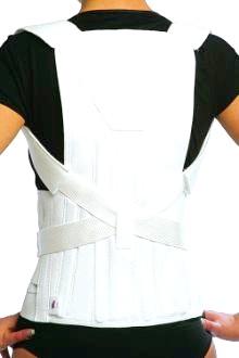Фото - м'яка модель грудо-попереково-крижового корсета