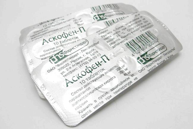 Фото - Аскофен - знеболюючий при остеохондрозі