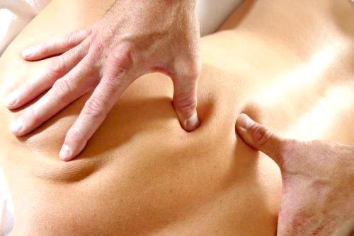 Фото - масаж при спондилезе