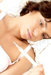 Фото - Підвищення температури у жінок при захворюванні грудей