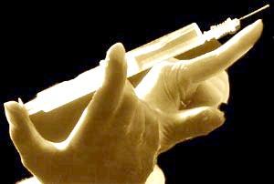 Фото - Шприц з ліками для уколу