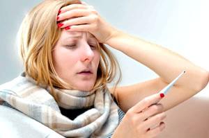 Фото - Основний симптом підйом температури