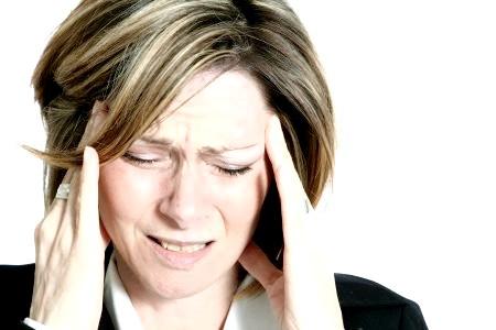 Фото - головні болі при остеохондрозі