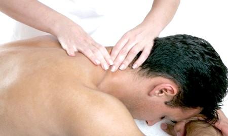 Фото - масаж при остеохондрозі