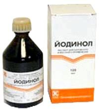 Фото - Лікування йодинолом