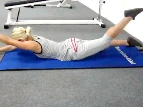 Фото - Гімнастичні вправи при сколіозі