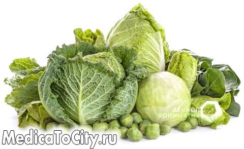 Фото - Зелені листові овочі